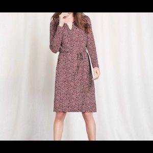 Boden Long Sleeve Audrey Dress